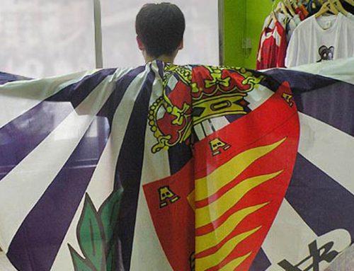 Impresión en sublimación de capa para la mascota del Real Valladolid