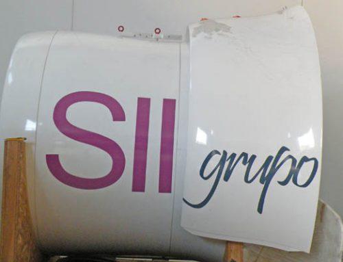 Rotulación de aerogenerador para el grupo SII
