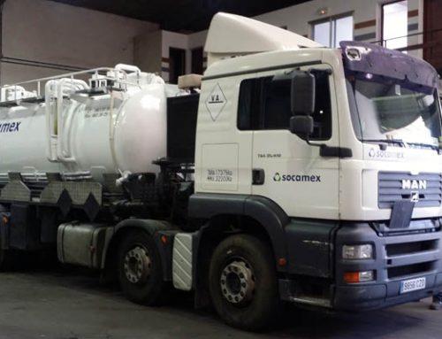 Rotulación de camión cisterna