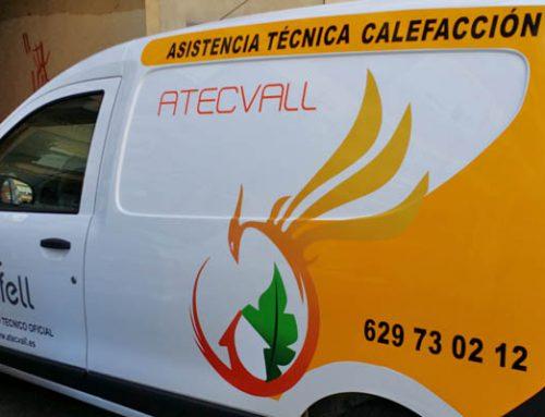 Rotulación de una Dokker Van de Dacia para Atecvall