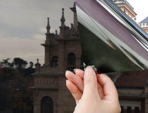 Placa de vinilo solar para vidrios