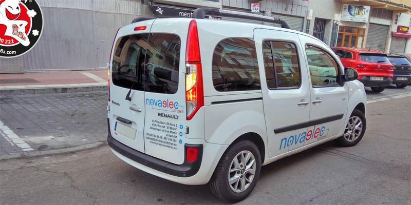 Rotulación de vehículo para novaelec