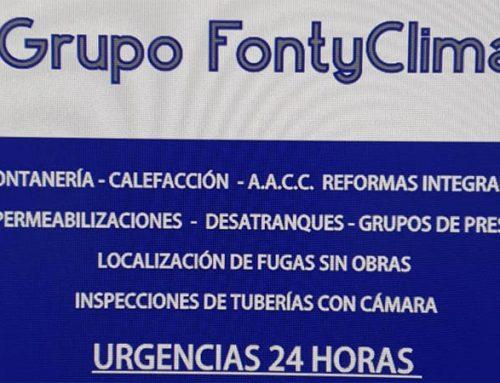 Vinilos para Grupo Fontyclima