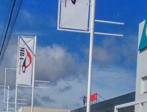 Lonas publicitarias fabricadas en pvc para banderolas