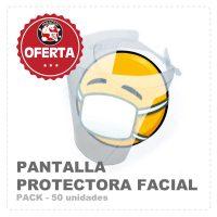 pantallas protectora facial