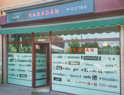 Decoración para la cafetería Rabadán