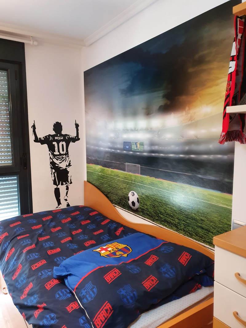habitación decoración