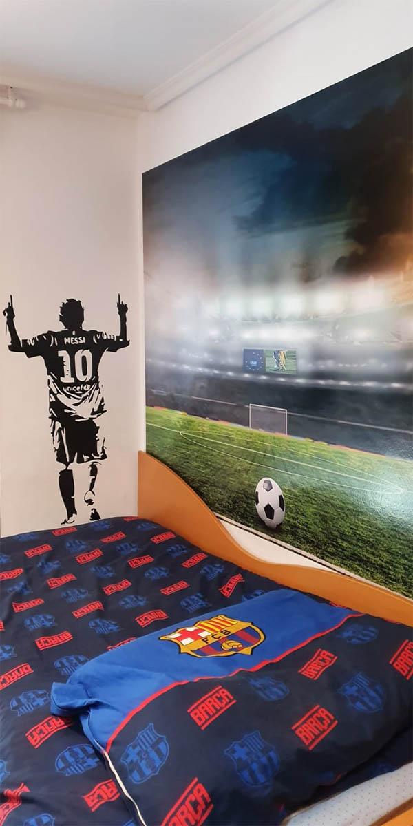 habitación decoración impresión digital