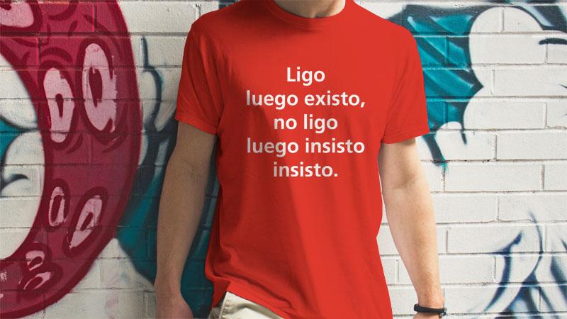 Camisetas impresas personalizadas