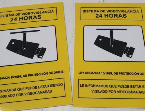 Impresión de señales en PVC a medida