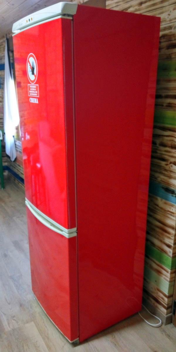frigorífico forrado con vinilo