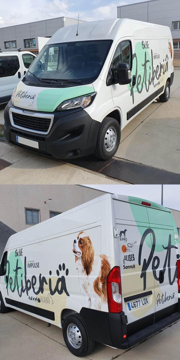 Petiberia furgoneta