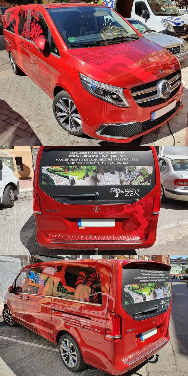 Zen vehículo para empresa