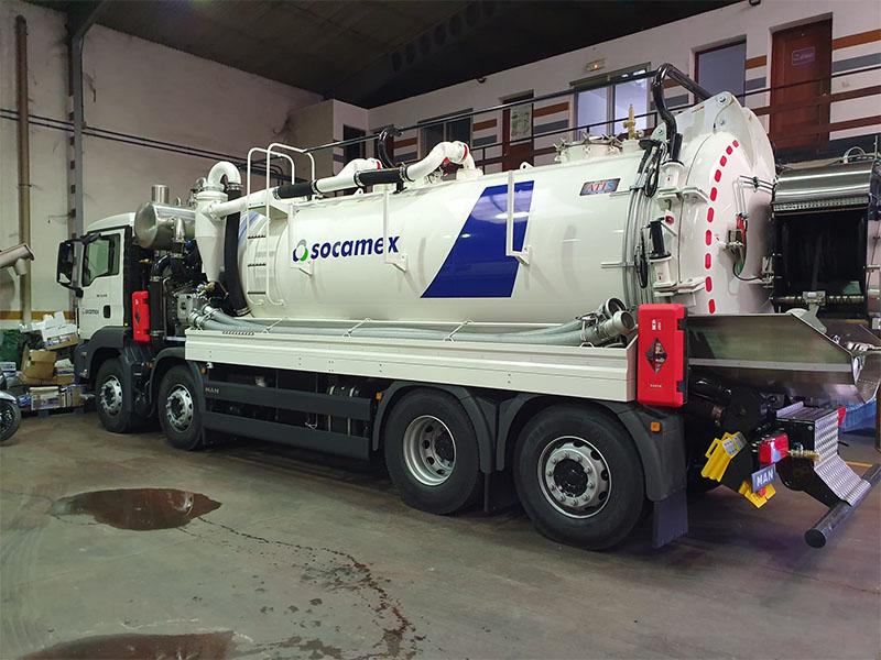 Camión Socamex flota