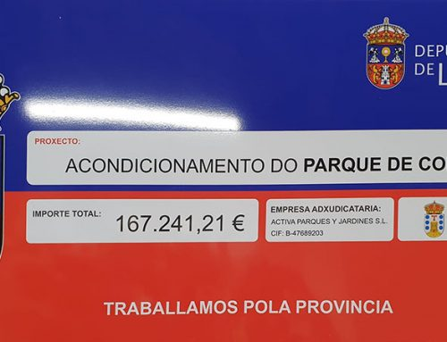 Chapas de obra rotuladas para Galicia