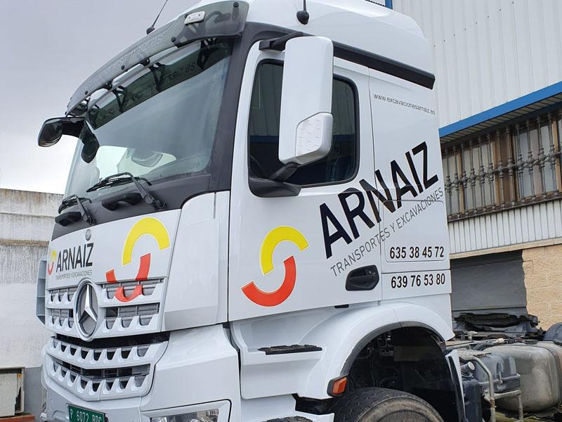 camión vinilado Arnaiz