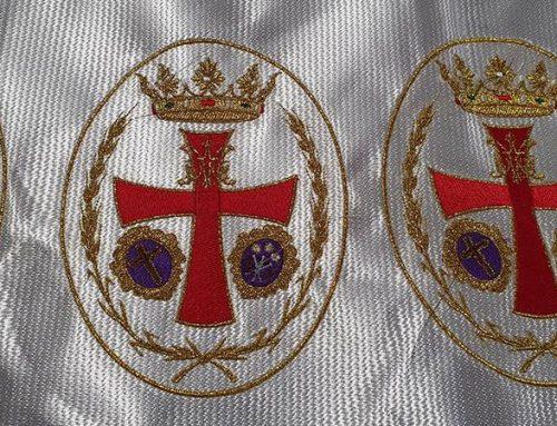 Bordado para insignias de Semana Santa