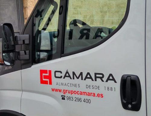 Camión vinilo de empresa